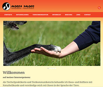 Website Andrea-Pauder.de