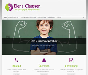 Website Elena-Clausen.de