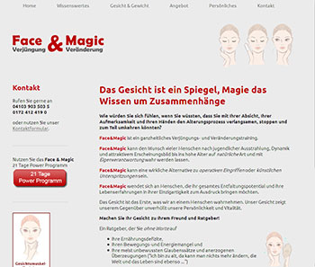 Website Face&Magic